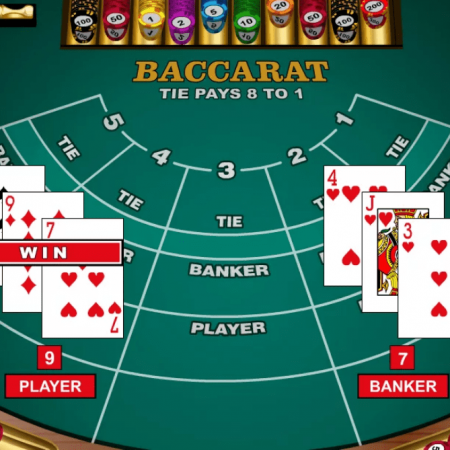 Baccarat - gambling overview and guide