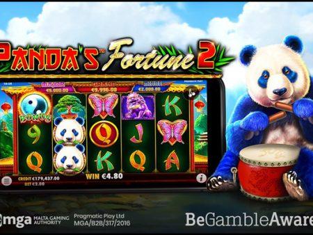 Pragmatic Play brings back its merry panda in Panda's Fortune 2