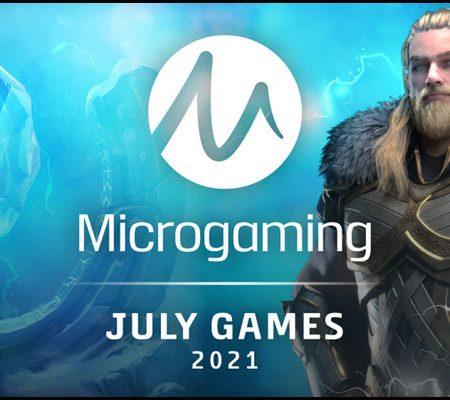 Microgaming представляет большой выбор июльских дополнений в портфолио