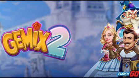 Исследуйте новые миры с видео-слотом Gemix 2 от Play'n GO